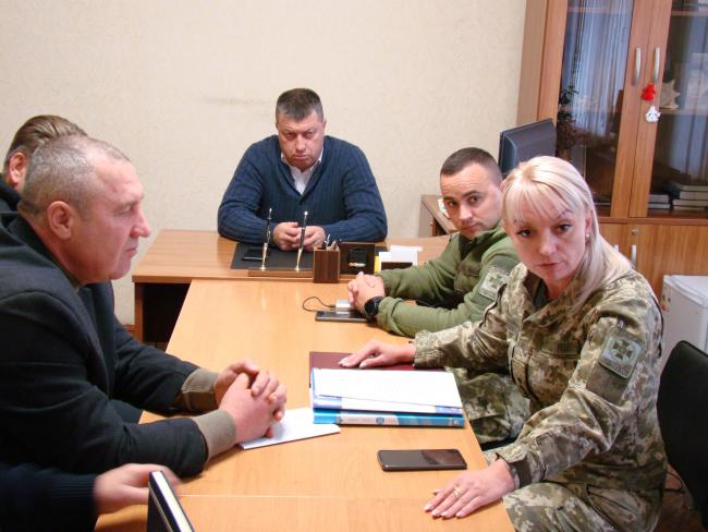 """Начальник отдела """"Рени"""" ГПСУ провёл совещание с местными депутатами по вопросам пограничного режима"""