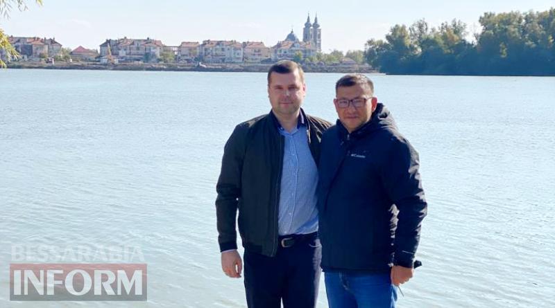 Мэр румынской Килии-Веке с ответным визитом посетил Килию